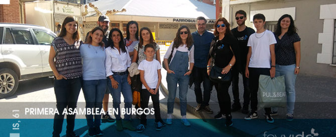 Primera asamblea de Fe y Vida en Burgos