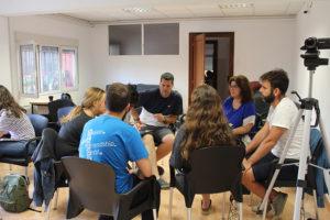 Reunión liderazgo cristiano