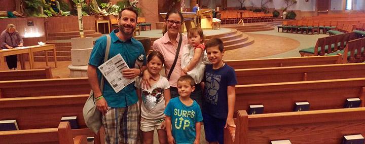Familia cristiana en EEUU