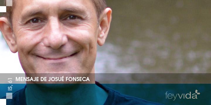 Mensaje de Josué Fonseca