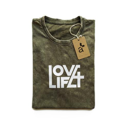 Camiseta cristiana Love / Life