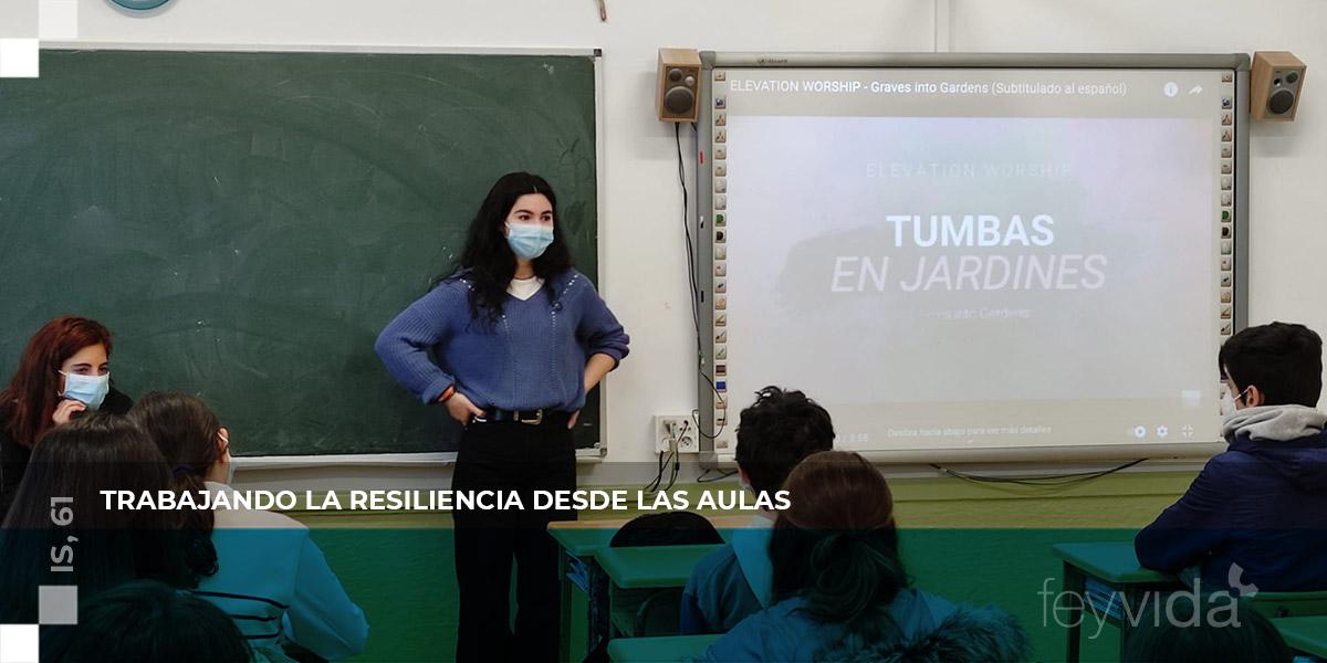Trabajando la resiliencia desde las aulas